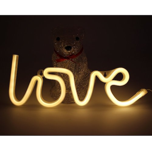 Letras decorativas de luces decorativas LOVE